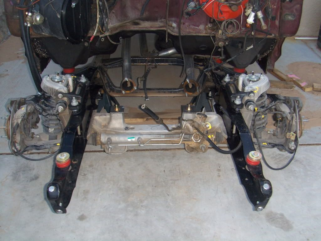 Crown Vic Front Suspension On F100 Google Search Ford Pickup Ford Trucks Rat Rod