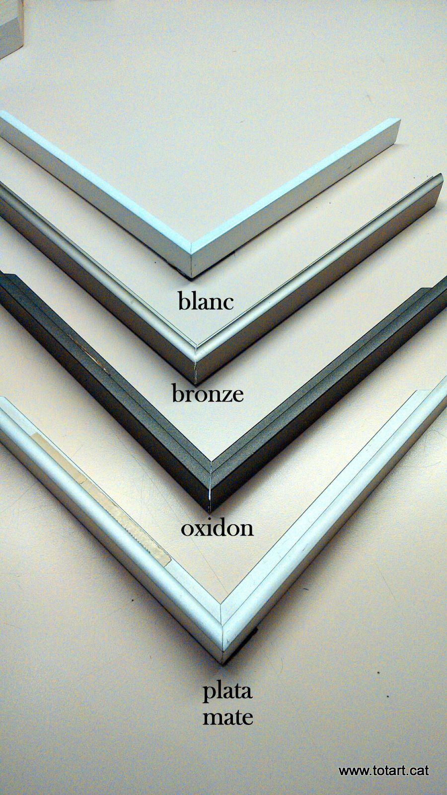 marcos #aluminio para #enmarcar | Marcos y cuadros | Pinterest ...