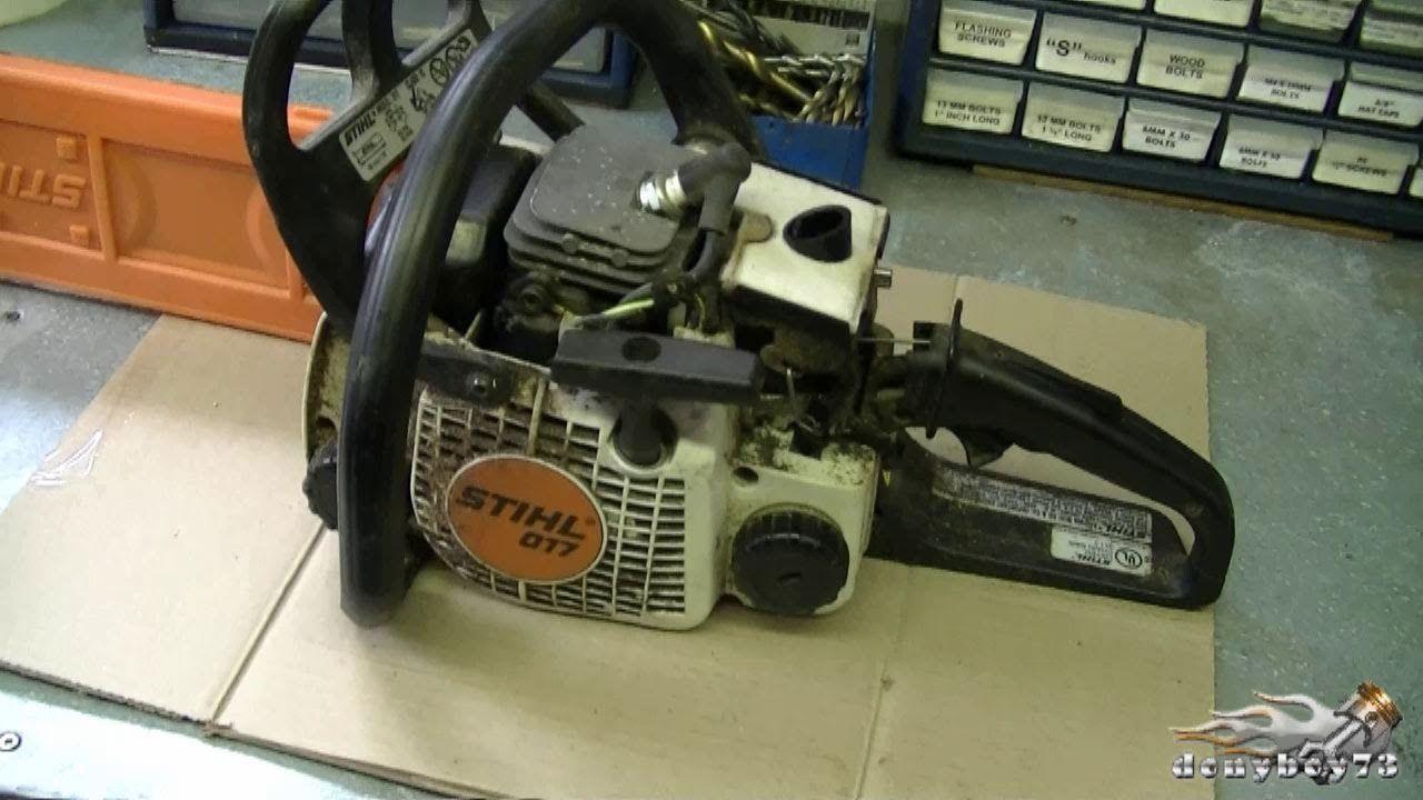 How To Carburetor Fuel Line Repair On Stihl 017 Ms170 018 M180 Ch Stihl Repair Engine Repair