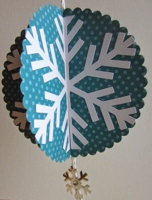 Paper Snowflake Ornament by Paper Seedlings
