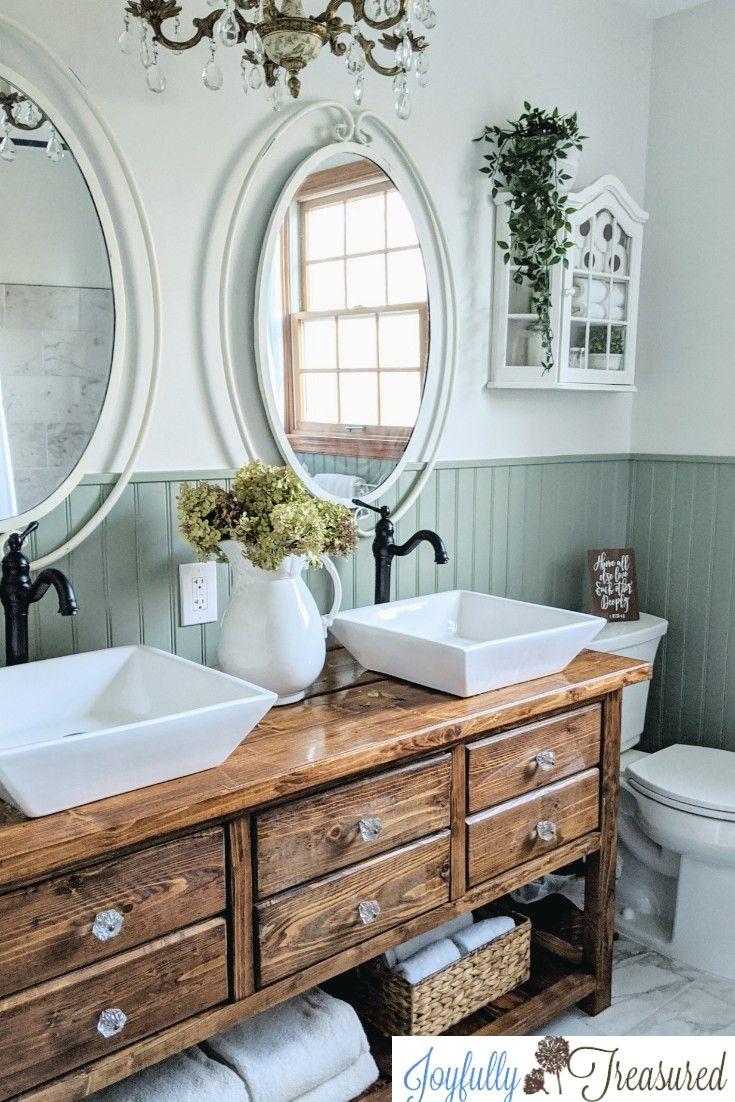 Photo of Vintage Chic Bathroom Remodel, One Room Challenge Reveal
