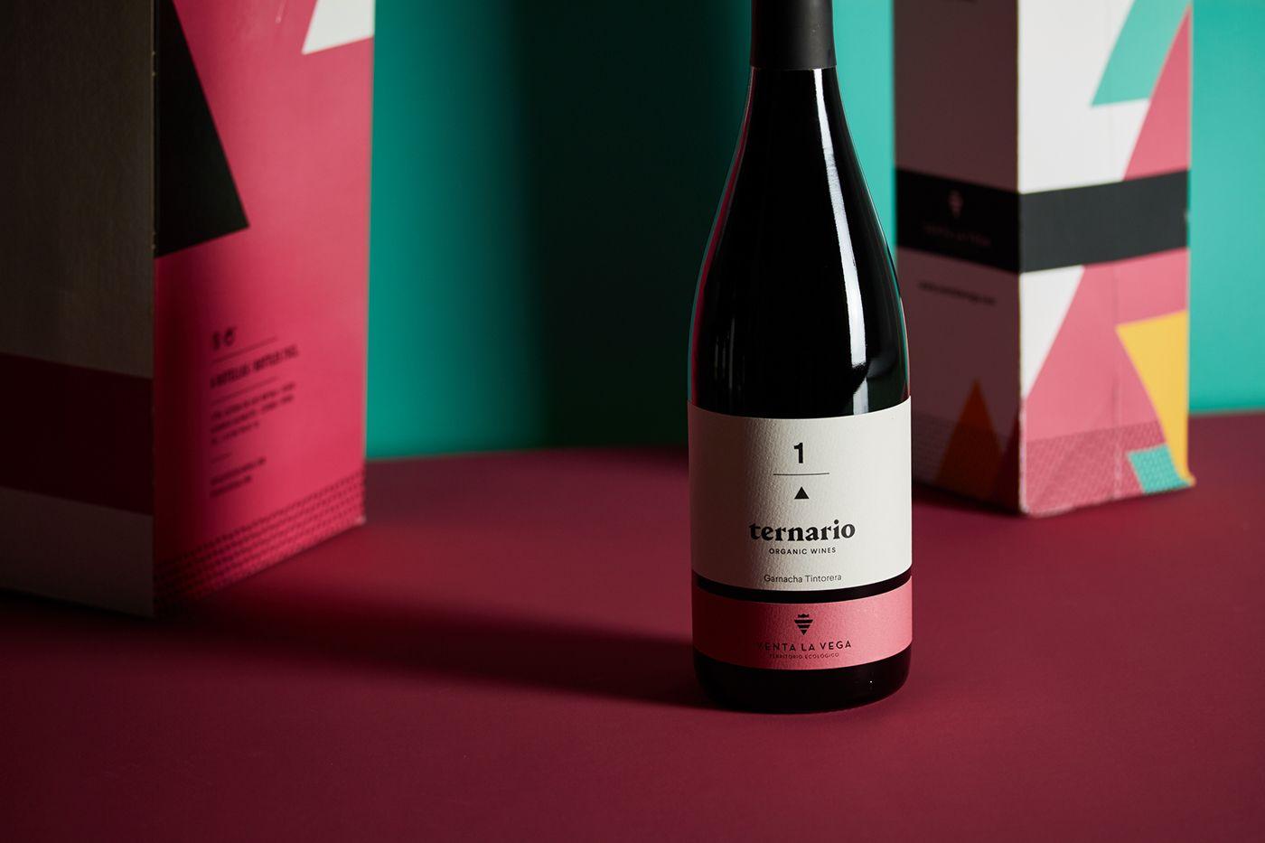 Ternario On Behance Organic Wine Wine Tasting Events Wine Safari