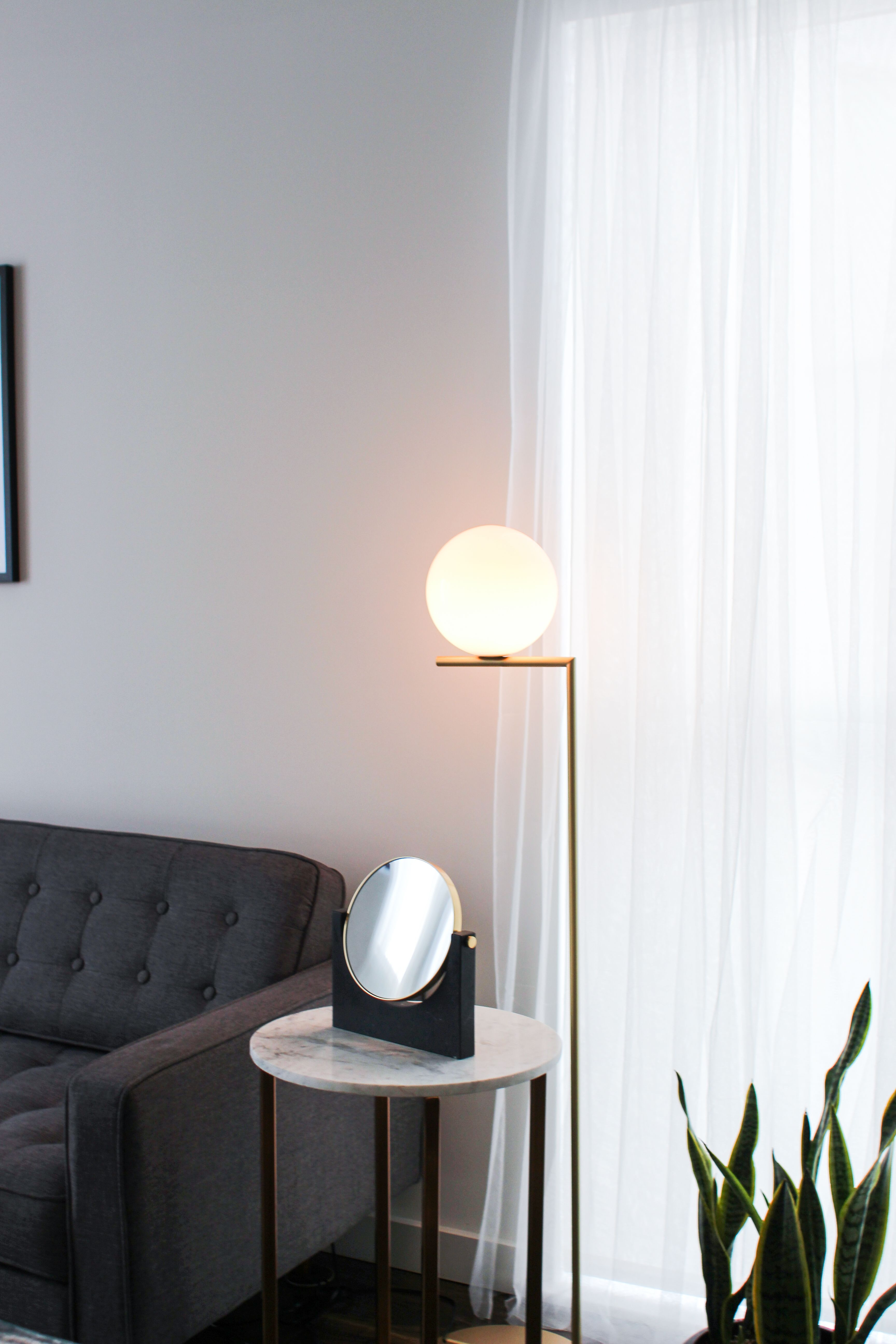 Make The Most Of Your Living Room With Sofas Side Tables Floor Lamps Decor And More Li Modern Living Room Table Floor Lamps Living Room Lamps Living Room