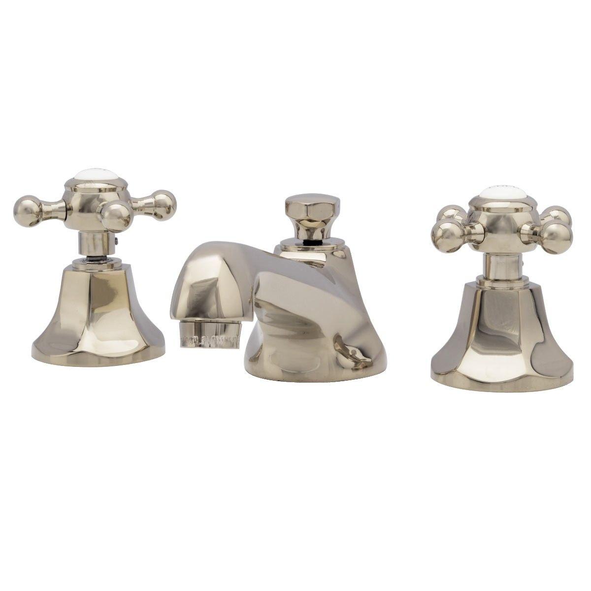 Randolph Morris Widespread Bathroom Sink Faucet nickel for ...