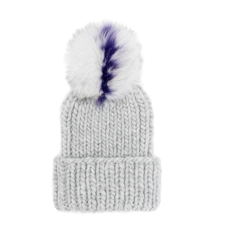 a16dce896 Visit EugeniaKim.com to shop the RAIN Light gray chunky wool hand ...