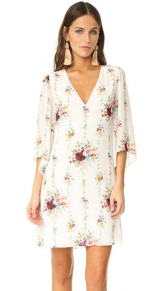 8639770c75 ALICE AND OLIVIA Shary V Neck Caftan Dress. #aliceandolivia #cloth #dress  #top #shirt #sweater #skirt #beachwear #activewear