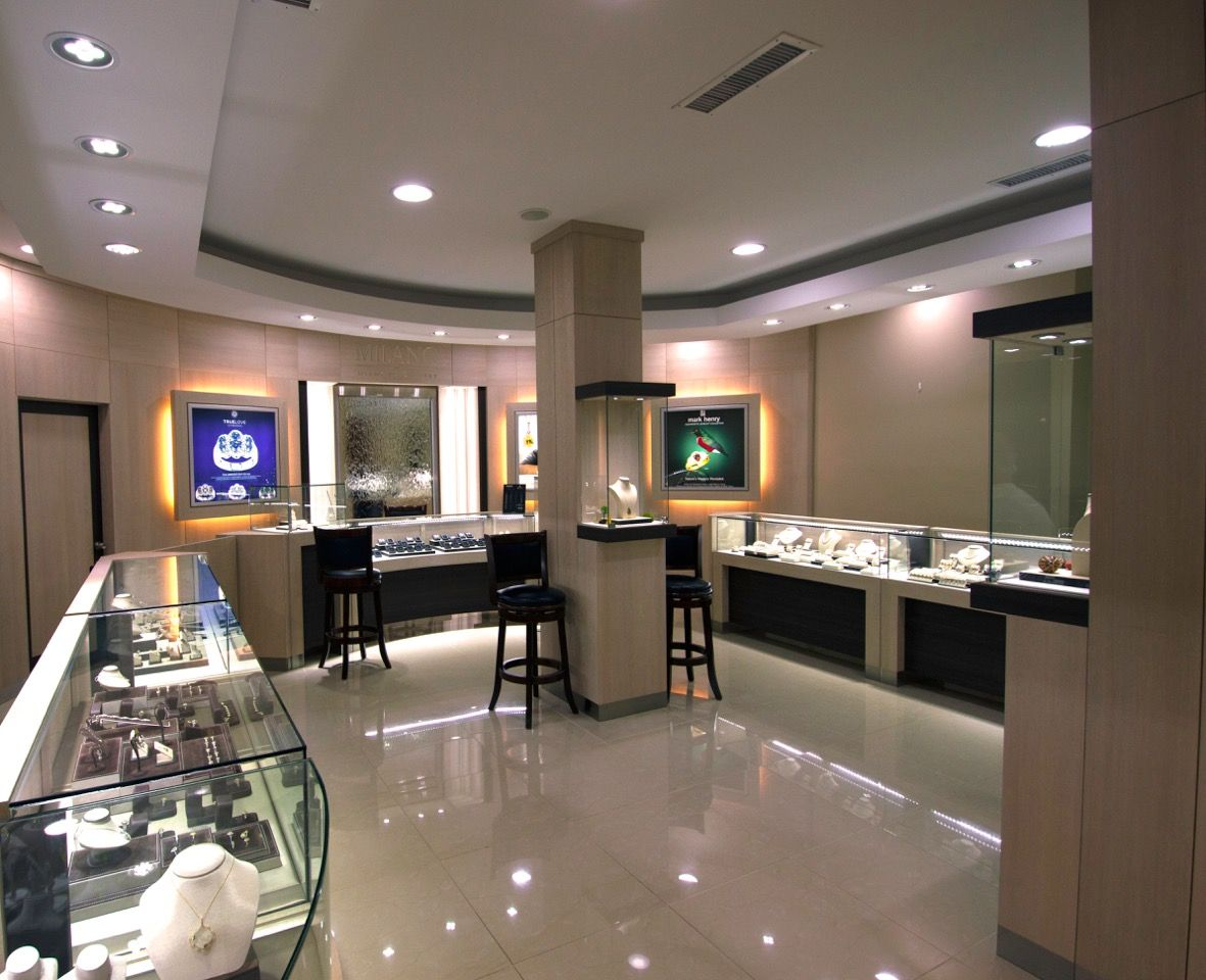 Milano DIamond Gallery Manufacture & Design of Store Fixtures by Artco  Group