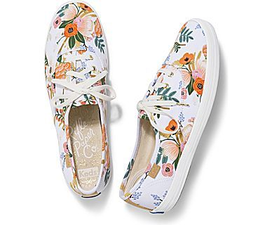 a98849f42b8 Women - KEDS X RIFLE PAPER CO. CHAMPION LIVELY FLORAL - White Multi ...
