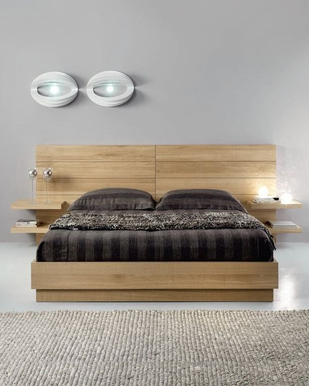 Oak Double Bed Flyer By Domus Arte Wood Bedroom Bed Design Double Bed Designs Bedroom Furniture