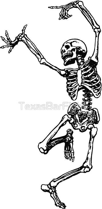 Dancing Skeleton Transparent Background Cool Shit