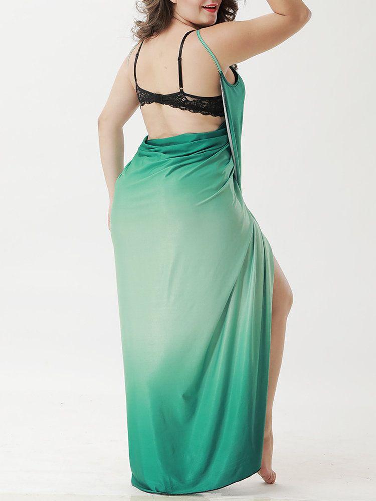 c541985cc05 Gradient Color Mutli-way Wear Bath Towel Beach Dress Cover-Ups ...