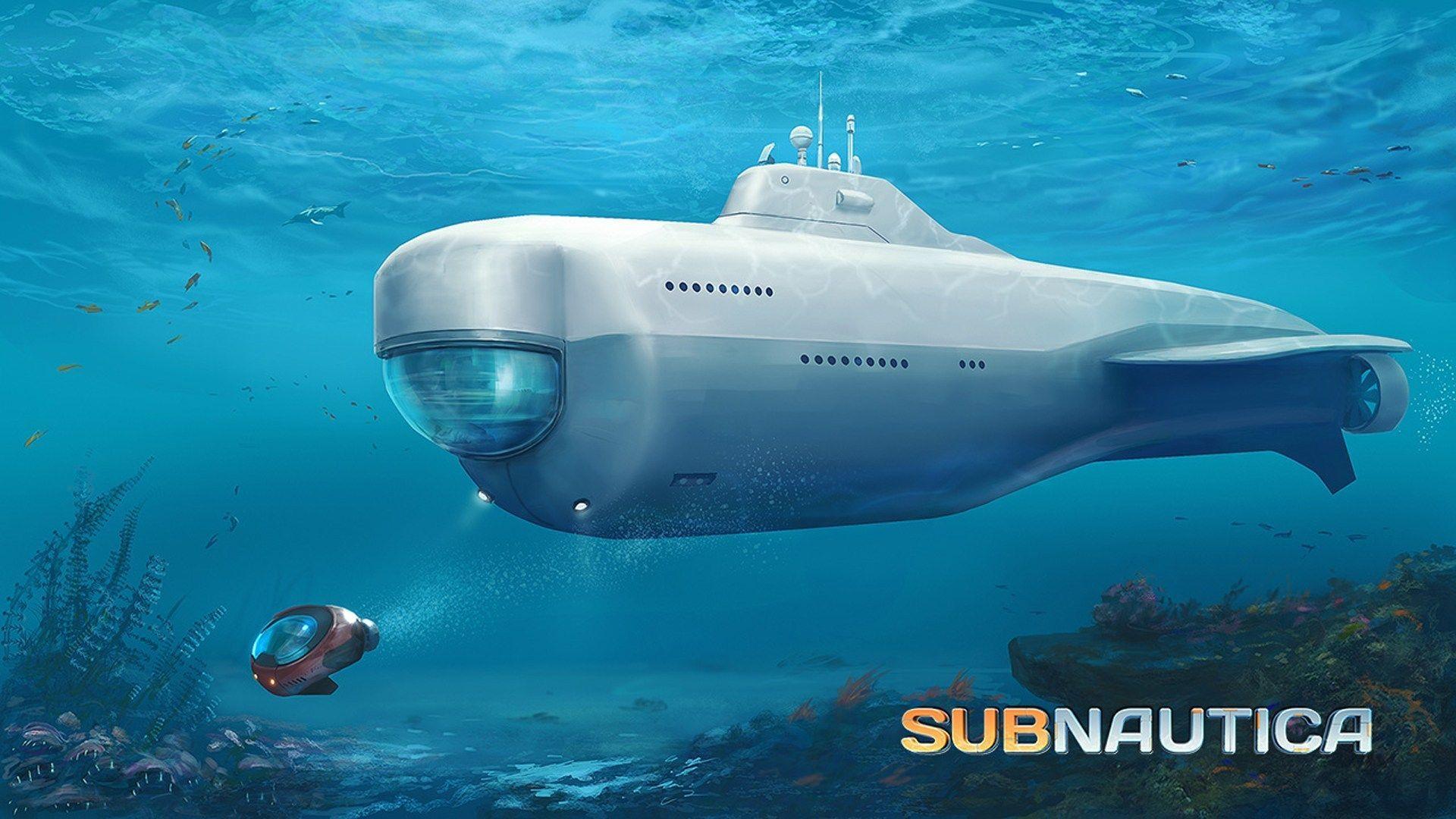 خمس ألعاب إضافية ننصحك بها فى شهر رمضان Subnautica Concept Art Submarines Concept Art