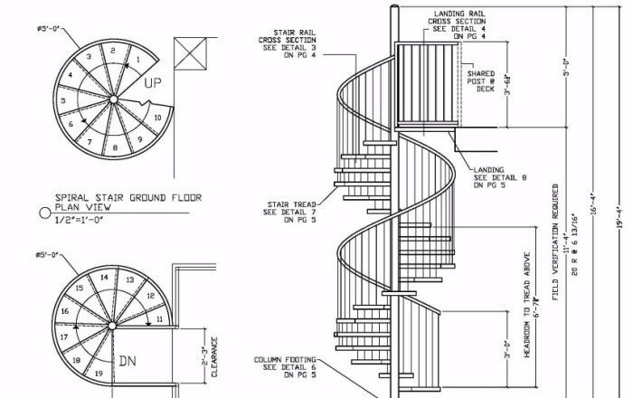 Image Result For Stair Railing Design Drawing Stairs Floor Plan Stair Railing Design Spiral Stairs Design