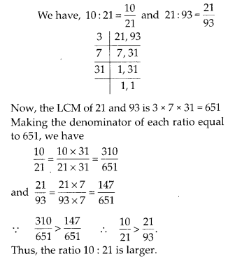 Ncert Exemplar Class 6 Maths Chapter 8 Ratio And Proportions With Images Ratios And Proportions Class 6 Maths Math