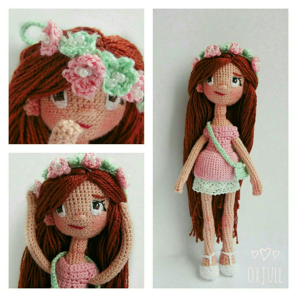 by oxjull #amigurumi #doll #crocet #girl #toy