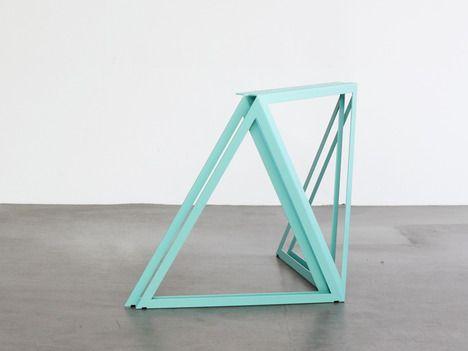 Steel Stand by Sebastian Scherer