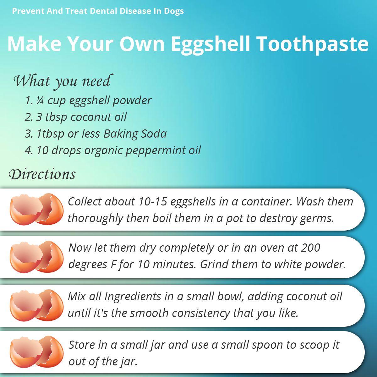 eggshell toothpaste