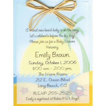 Beach Boy Baby Shower | Beach Baby Shower Invitation, Summer Baby Shower  Invitation