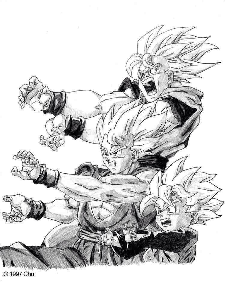 Goku, Gohan, & Goten | gocku | Pinterest | Dragon ball, Dragon ball ...