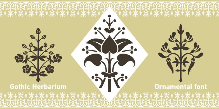 Gothic Herbarium Font Download #font#fonts#typography#design