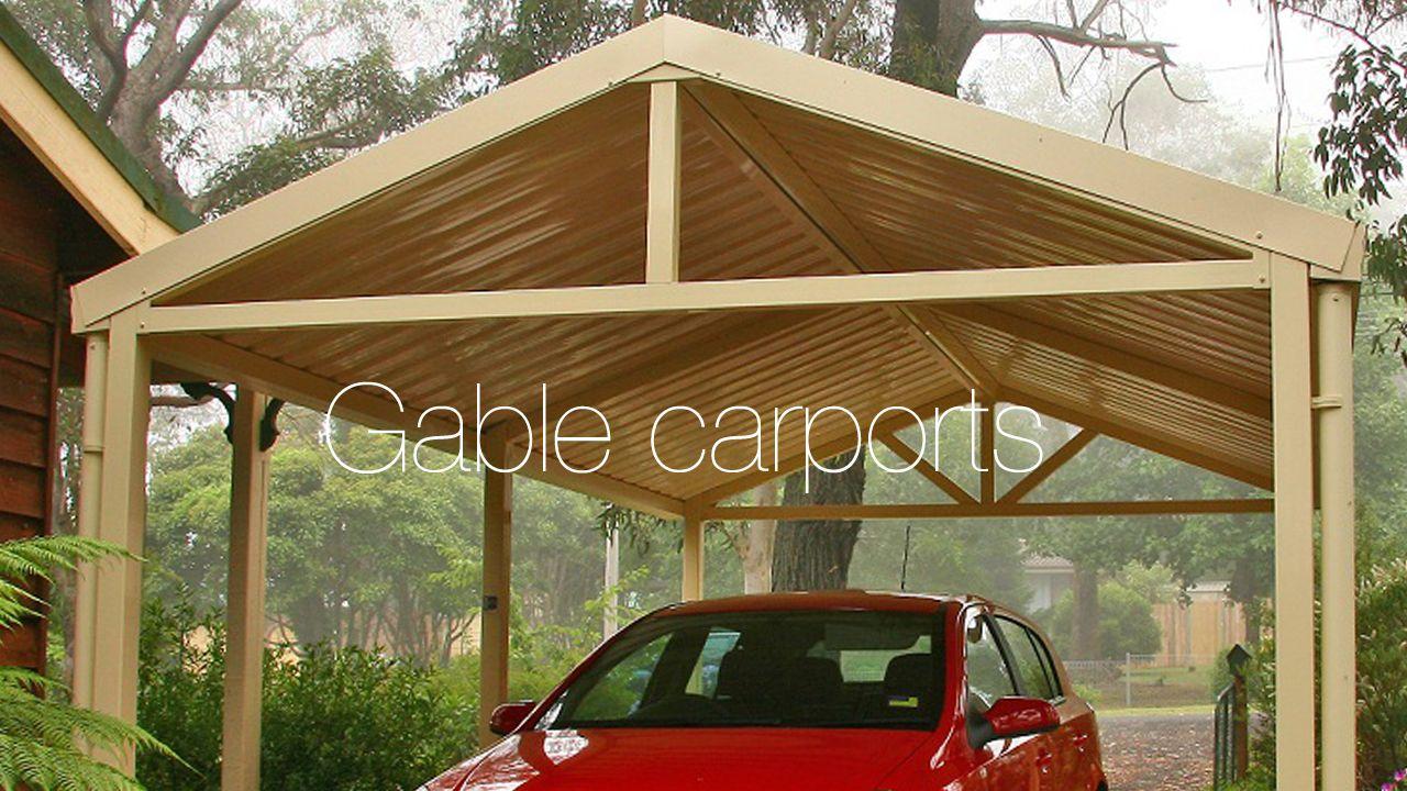 gable carport plans