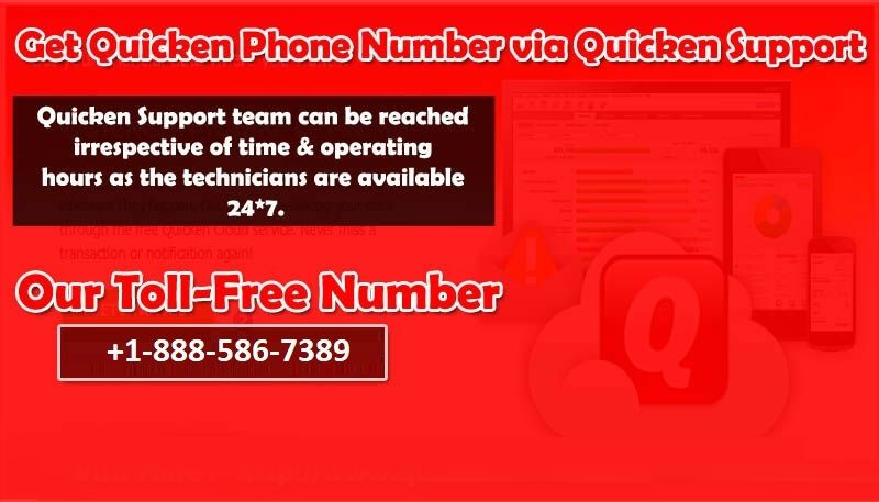 Get Quicken Phone Number Via Quicken Support Quicken Support Team