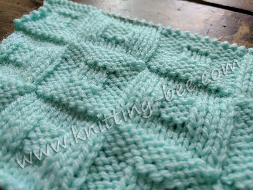 Square In A Square Checkerboard Knitting Stitch Httpknitting