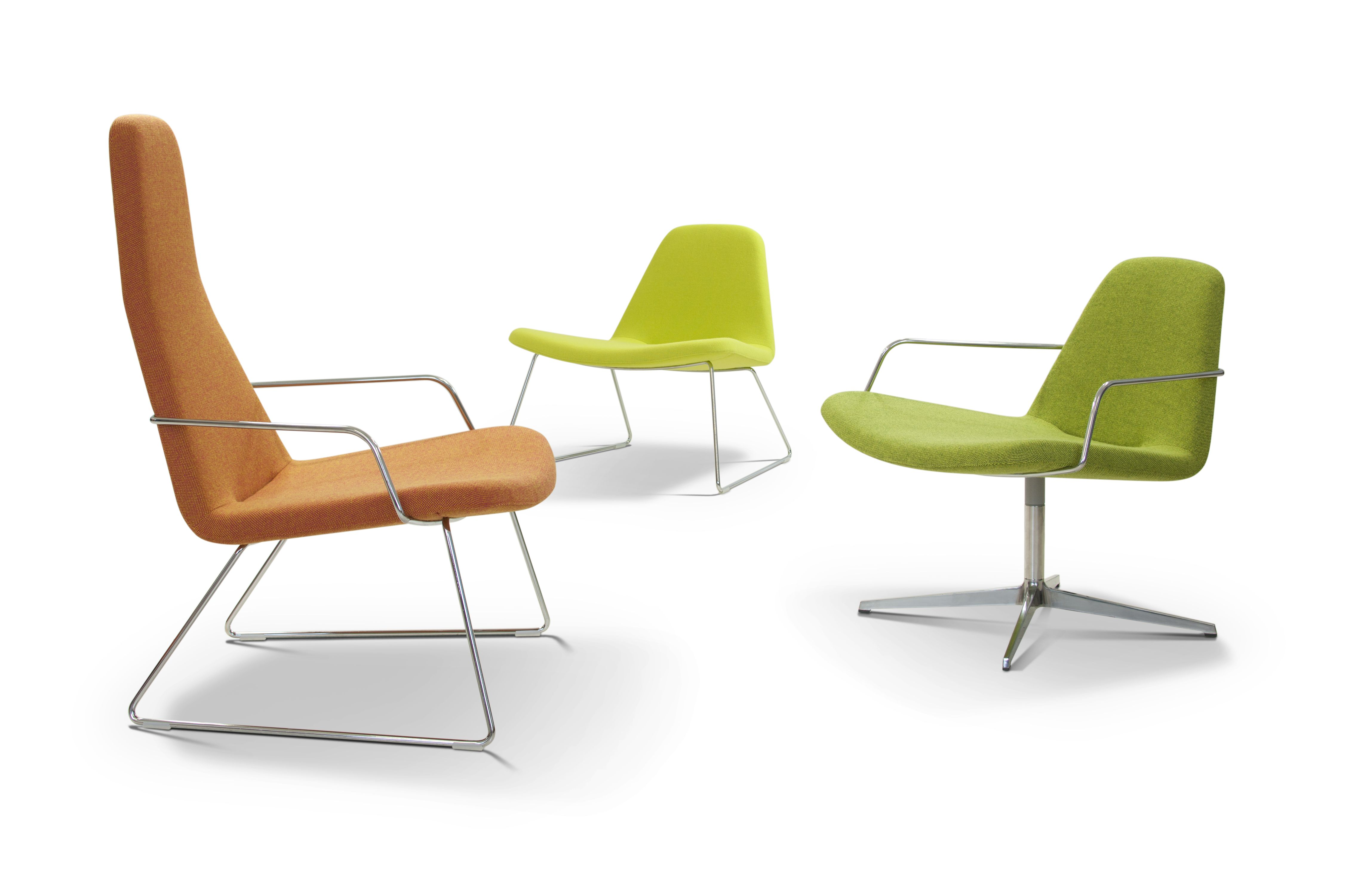 Hitch mylius hm59 lounge chairs designed by matthias
