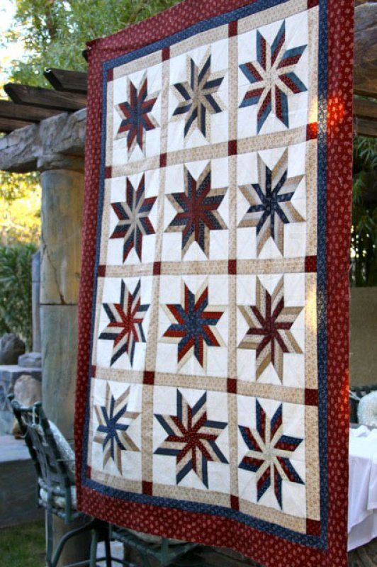 Old Glory Sweet Stars Quilt Kit | Quilts and Quilt Blocks ... : old glory quilt - Adamdwight.com