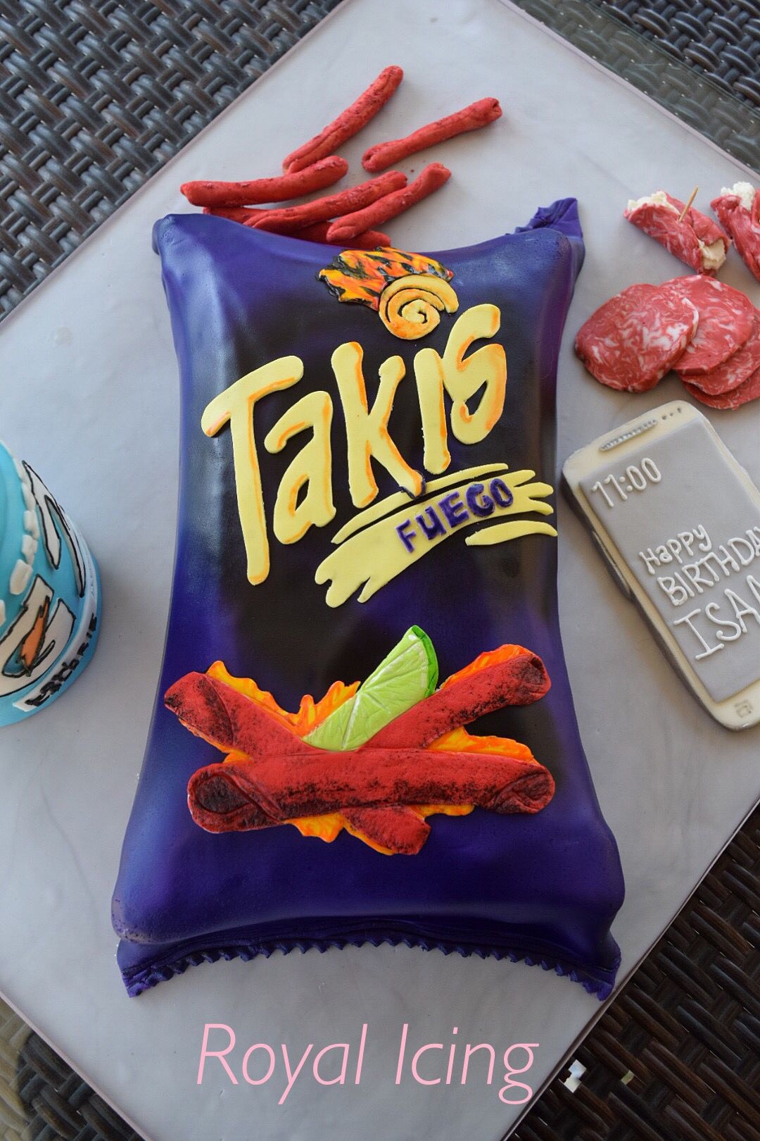 Takis Chips Cake Chips How Sweet Eats Fun Desserts