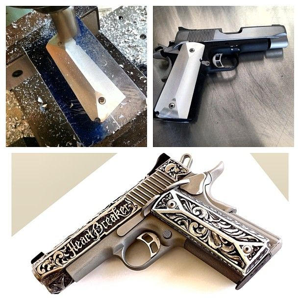 #TBT My 1st Custom Gun build a #Kimber CDP II with a little Sugar Sprinkled on it #jessejames