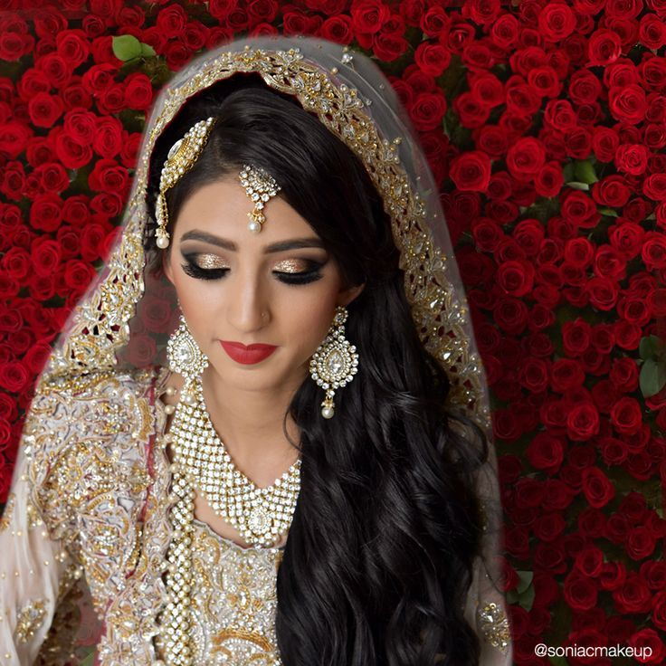 Pakistani bridal makeup and hair Pakistani bridal makeup