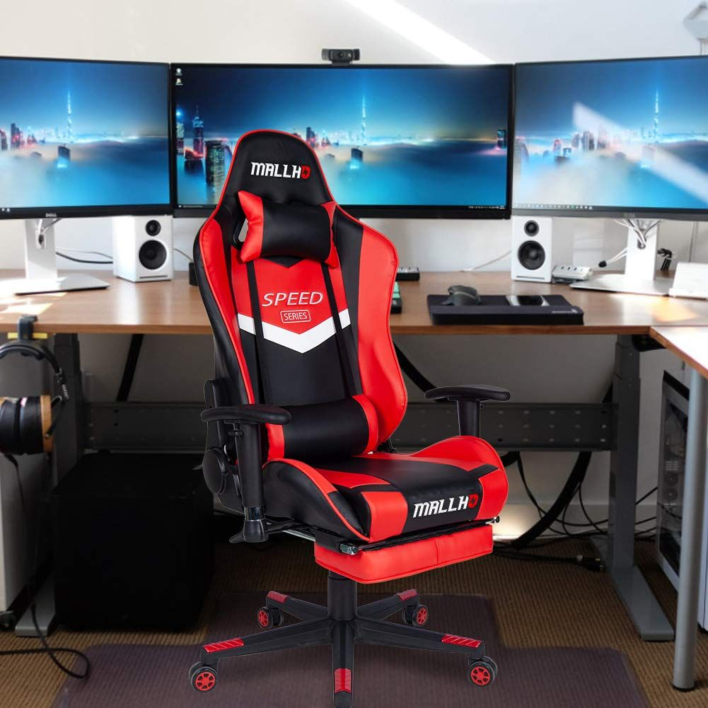 Polar Aurora Ergonomic Gaming Chair High Back