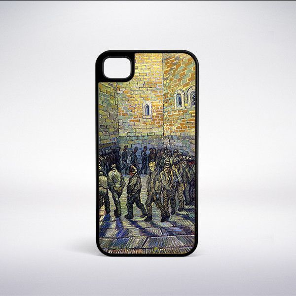 Vincent Van Gogh - Prisoners Exercising (Prisoners Round) Phone Case