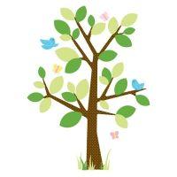 Kidzsupplies | Roommates muursticker boom dotted tree | Webwinkel voor baby- en kinderkamer decoratie