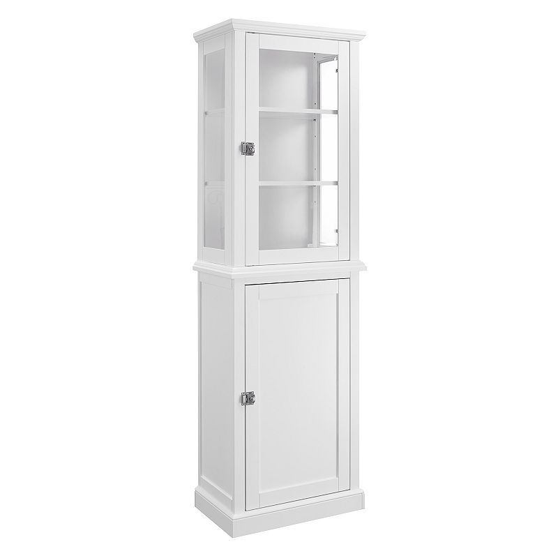 Linon Scarsdale Tall 2 Door Storage Cabinet Tall Cabinet Storage