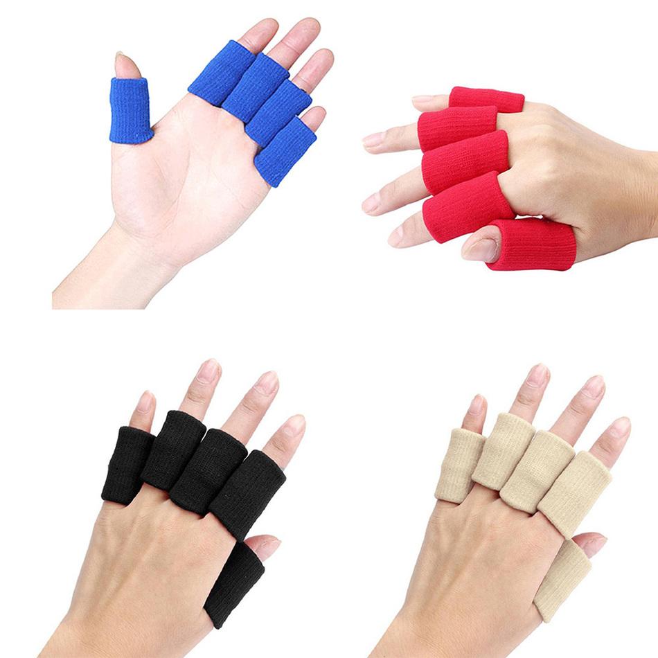 10pcsset sport finger splint guard bands bandage support