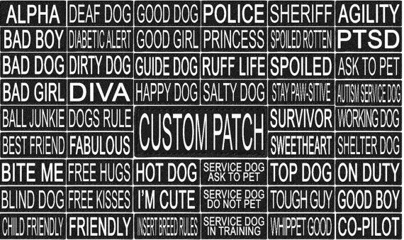 101 Custom Personalized Velcro Removable Patch Label By 101outlets
