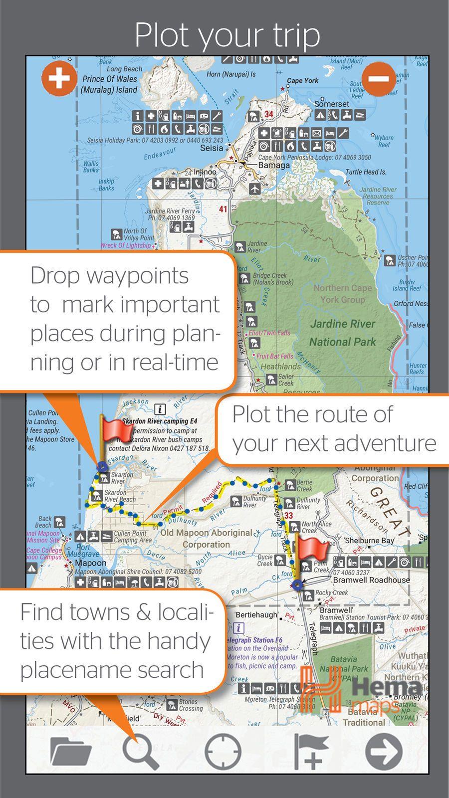 4wd Map Of Australia.4wd Maps Hema Australia Offline Topo Maps Navigation Topo Ios