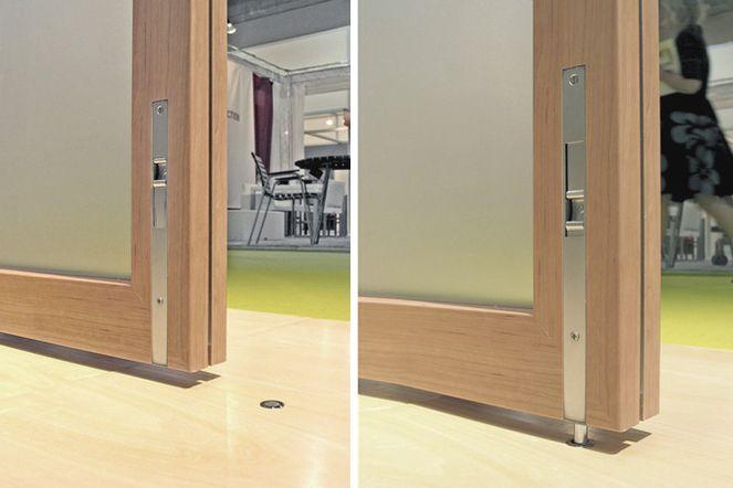 Flush Bolt Hardware In The Home Door Wall Doors