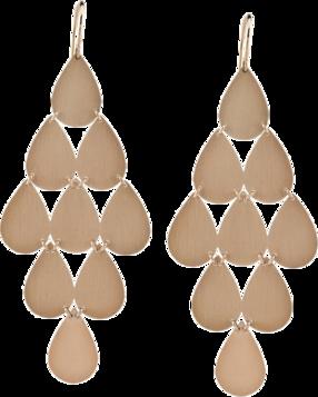 IRENE NEUWIRTH Classic chandelier earrings