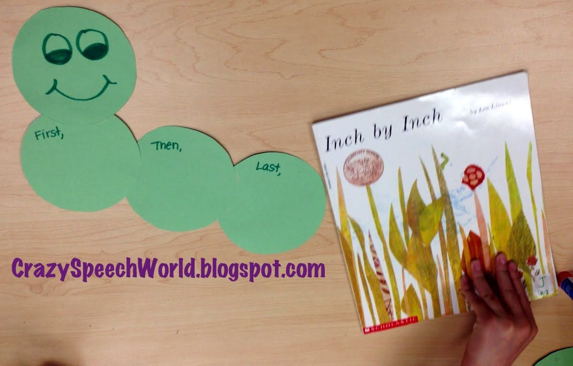 Inch By Inch Language Activities {Freebie!}