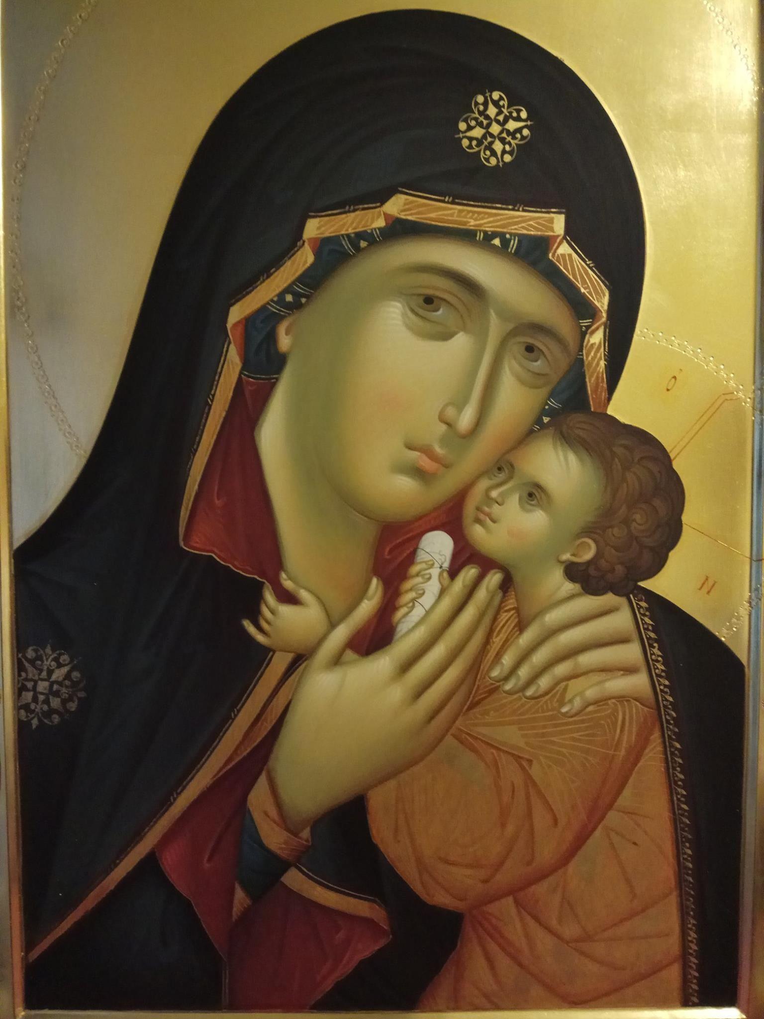 Икона пресвятая дева мария фото