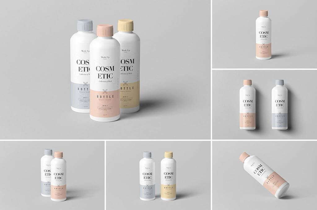 112 Best Cosmetic Mockups Free Premium The Designest In 2021 Cosmetics Mockup Bottle Mockup Mockup