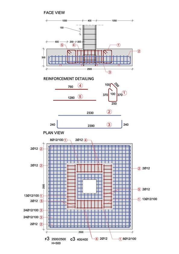 Buildinghow products books volume a the reinforcement ii the spread footing behaves like an inverted cantilever with loads applied in the upward directionspread footings and the details before construction malvernweather Images
