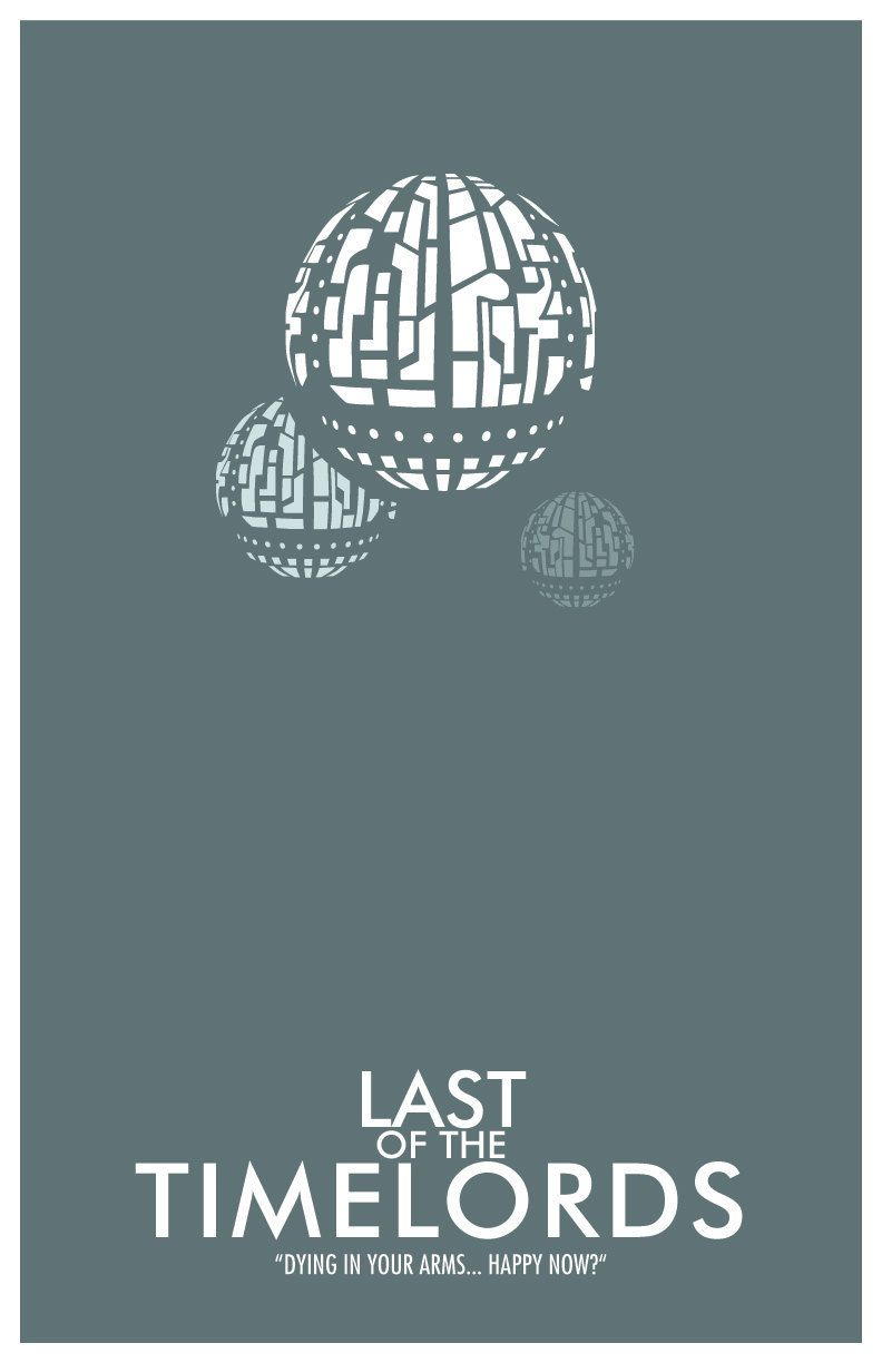 "Doctor Who Poster: The Last of the Time Lords - 11""x17"" Science Fiction Art Print. $18.00, via Etsy."
