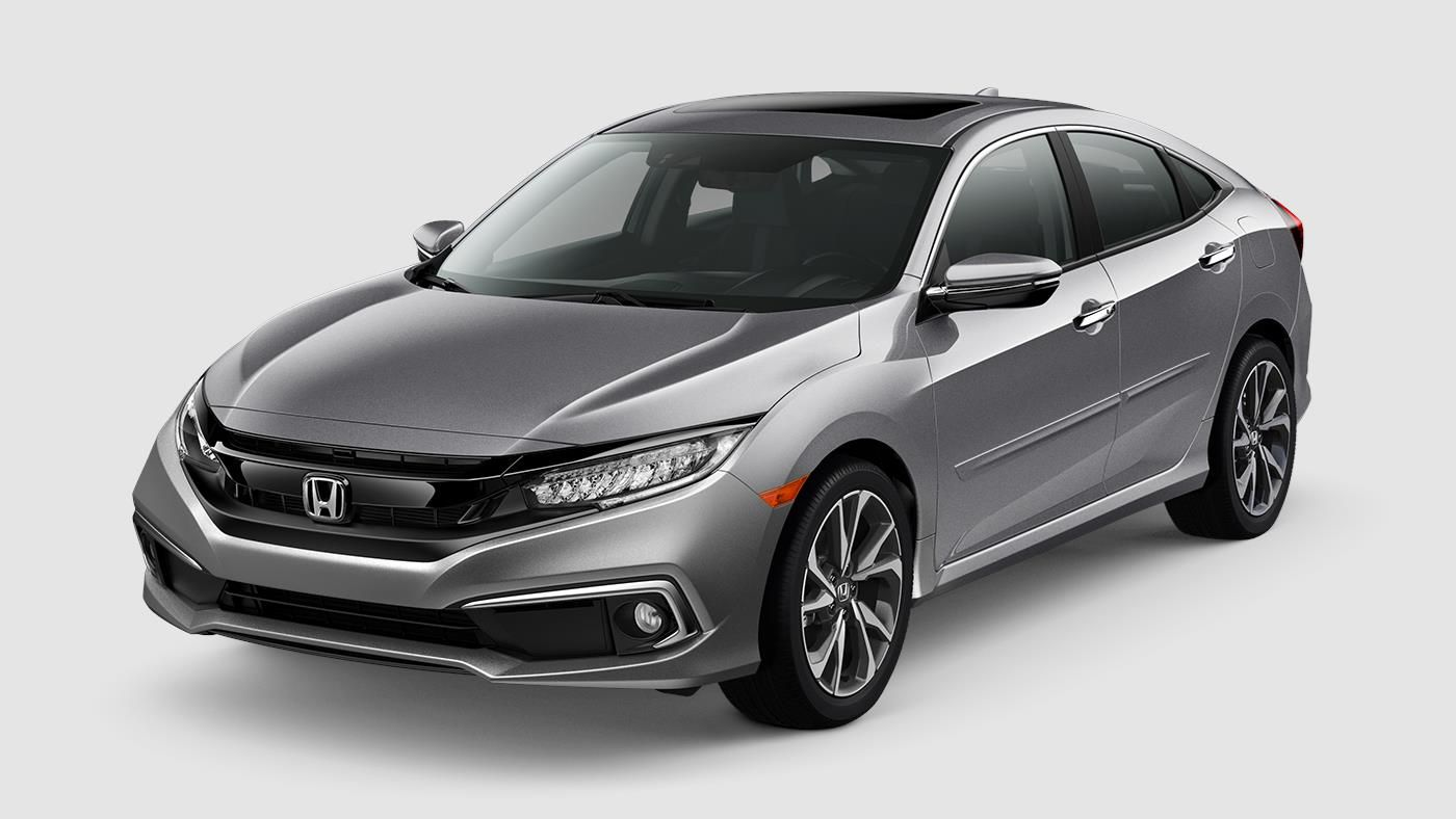 2019 Civic Sedan Restyled Sporty Design Honda Civic
