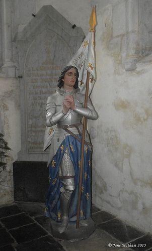 Jeanne d'Arc La Roche Derrien, Bretagne
