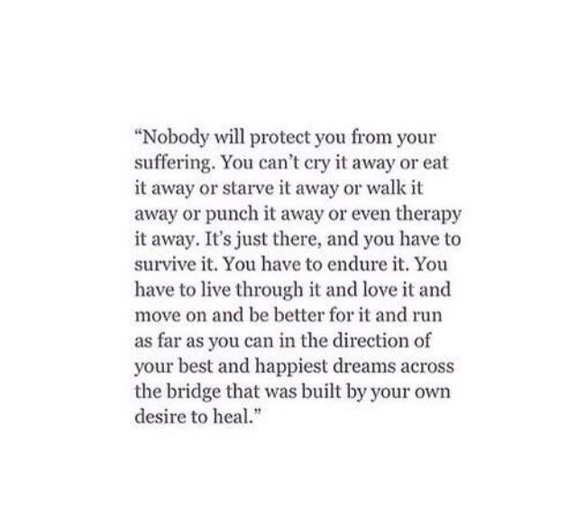 Favourite Quote 'You save yourself, or remain unsaved