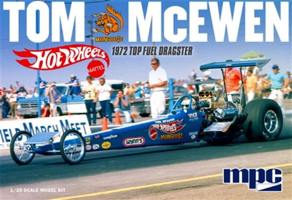 Tom \mongoose\ Mcewen \hot Wheels\ 1972 Rear Engine Dragster 1 25 Race Car Wiring Harness Drag Kits: Drag Racing Wiring Harness At Jornalmilenio.com